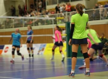 I wear to play recreational volleyball