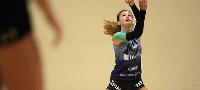 Woman Volleyball Player